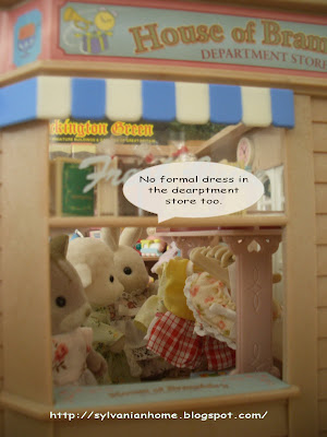 sylvanian families new dress shop