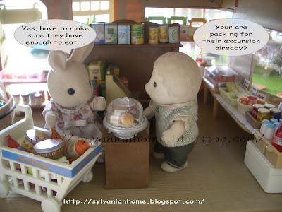 Sylvanian supermarket