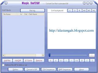 Cara buat atau membuat dan pasang atau memasang file swf ke atau menjadi file gif di atau halaman blog blogspot dan web site