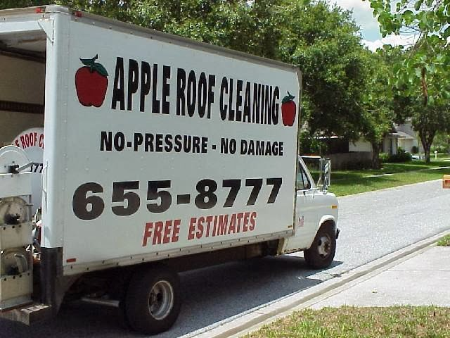 Apple Roof Cleaning Tampa Service Areas 33601 33626 33629