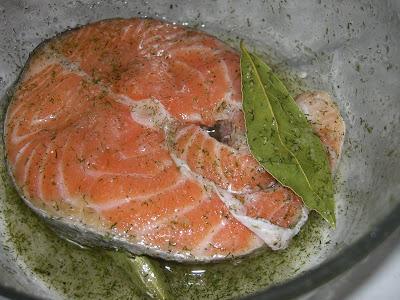 Articole culinare : Peste rosu in marinada