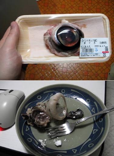 Freaky Food - Tuna Eyeball