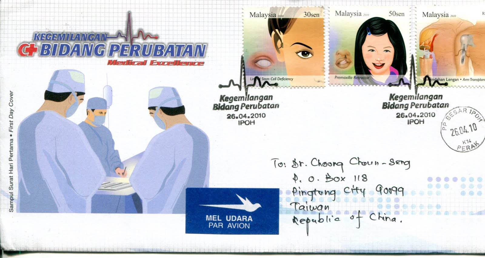 how to send registered post in malaysia