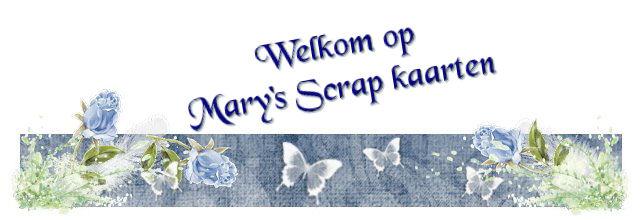 Mary's scrap kaarten