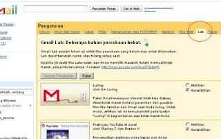 cara membuat tampilan gmail lebih menarik, chat melalui gmail, modif email gmail.com
