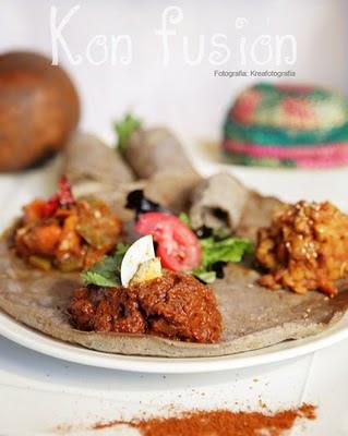 Etiopia Especias Berbere Carne