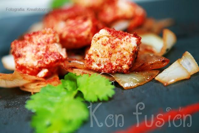 receta india especias cebolla