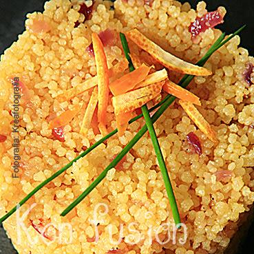 cous-cous aromatico naranja