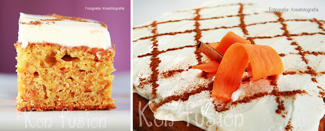 carrot cake delicioso