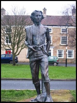 Captain Cook's Statue in Great Ayton
