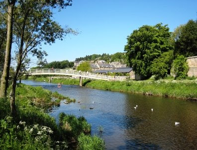 The River Coquet at Rothbury