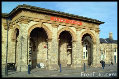 Photo of Saltburn Railway Station (courtesy of FreePhoto.com).