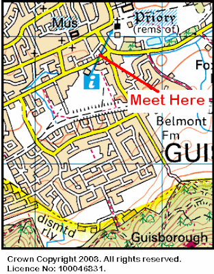 Map of Rectory Lane area.