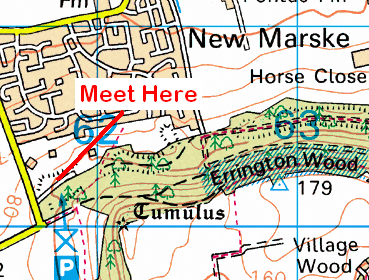Map of the Errington Woods area