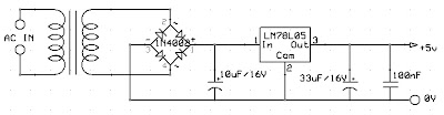 out atas dan lay out bawah rangkaian 8 led berjalan lengkap rangkaian