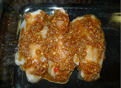Amporn's Thai Kitchen: Baked Tilapia with Tamarind Sauce