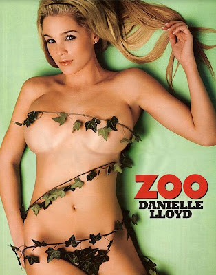 Danielle Lloyd Naked In Zoo