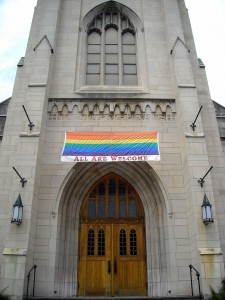 ... and that there are actually Christian churches that are lgbt friendly?
