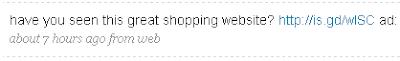 Magpie Tweet Example