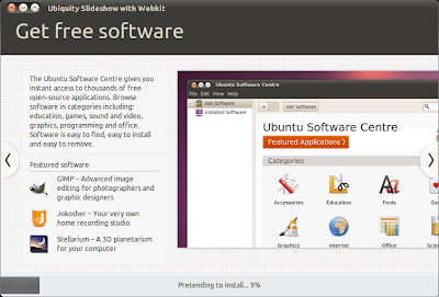 Ubuntu 10.10 Updated Installer Slideshow