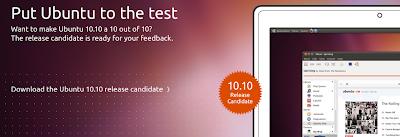 Ubuntu 10.10 RC