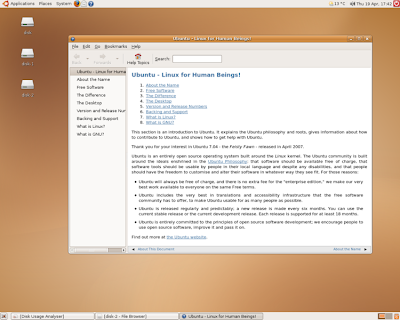 Ubuntu 7.04 (Feisty Fawn)