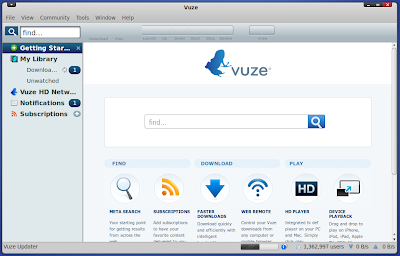 Vuze Bit Torrent Client