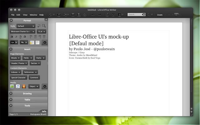 LibreOffice Mockups