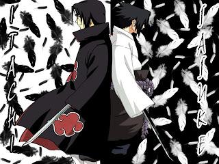 Gambar Itachi vs Sasuke - Naruto Shippuden