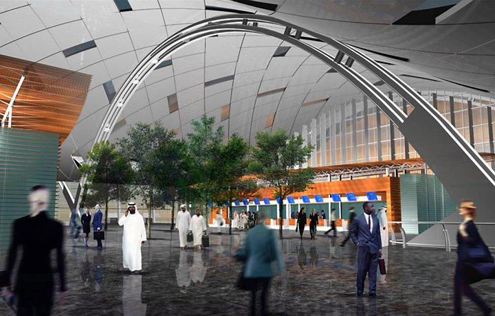 Aeroporto Qatar : Direto da pista com novo aeroporto doha no qatar quer