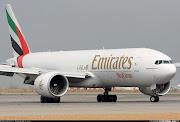 A divisão de transporte de carga da companhia aérea Emirates, . (emirates aerop hong kong )