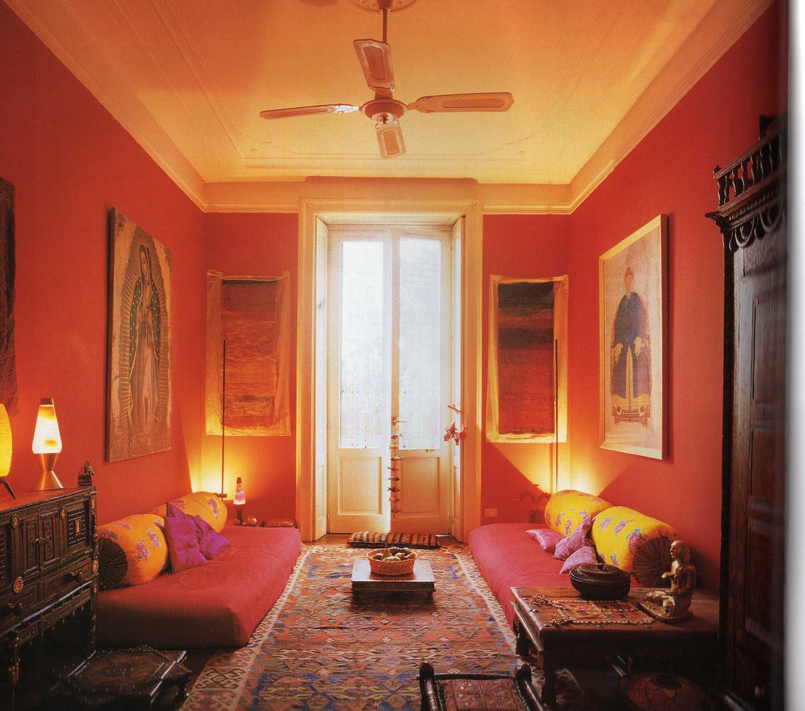 Living Room Flooring India: Saffron And Silk: Indian Style