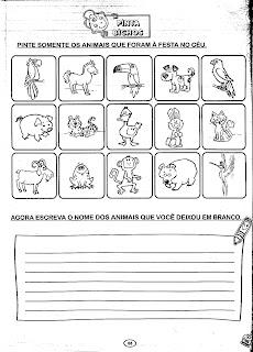 AtividadesLendaseFabulas+(65) A FESTA NO CÉU para crianças