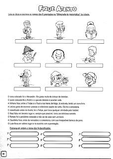 PAG60 NÚMEROS ORDINAIS para crianças
