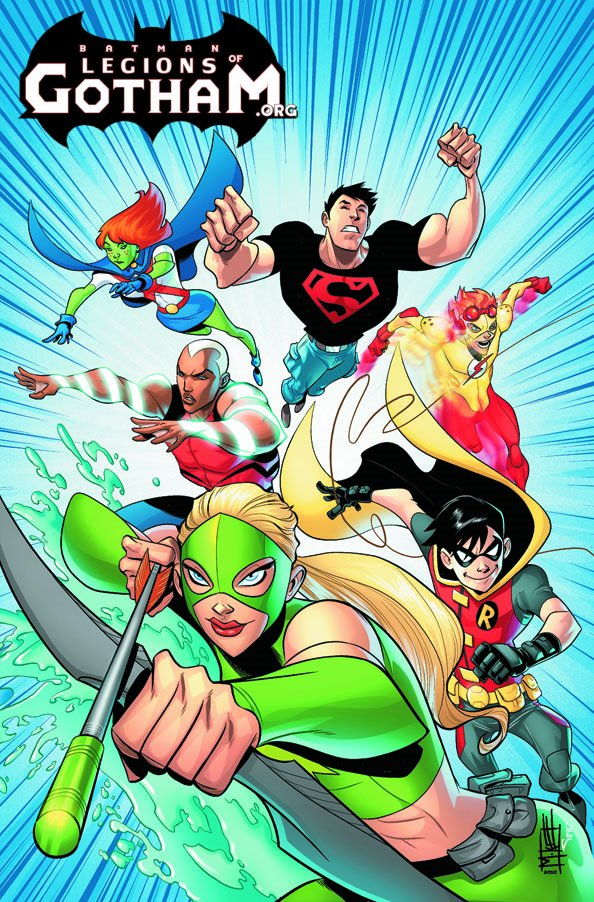 YOUNG JUSTICE #0. Written by GREG WEISMAN and KEVIN HOPPS