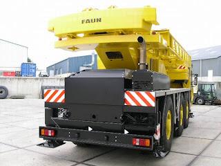 4 739469 FAUN RTF 40 3. 40 t la 45m AUTOMACARA SECOND HAND DE VANZARE