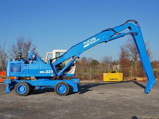 4 745205 EXCAVATOR INDUSTRIAL Fuchs MHL 331 manipulare materiale fier vechi din 2001 65.900 Euro