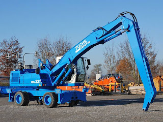 6 748238 EXCAVATOR INDUSTRIAL Fuchs MHL 331 manipulare materiale fier vechi din 2001 65.900 Euro