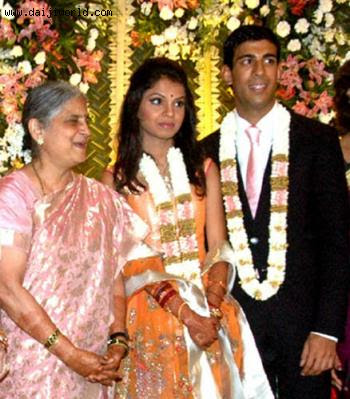 Akshata Murthy & Rishi Sunak