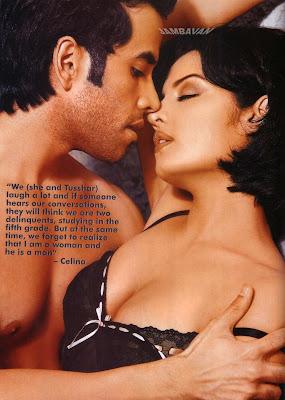 Celina Jaitley and Tushar Kapoor