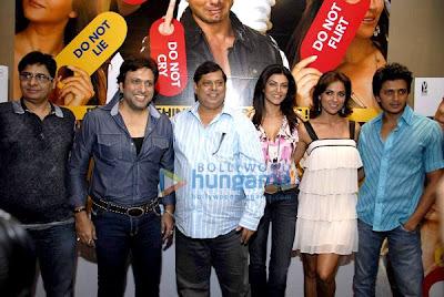 Vashu Bhagnani, Govinda, David Dhawan, Sushmita Sen, Lara Dutta, Ritesh Deshmukh