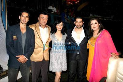 Dino Morea, Anu Malik, Dia Mirza, Aftab Shivdasani, Farah Khan