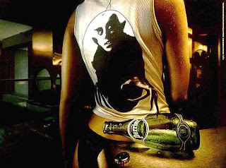 Perrier Ad Campaign