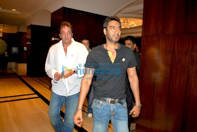 Preity Zinta , Ajay Devgan, , Sunil Shetty and Sanjay Dutt picture