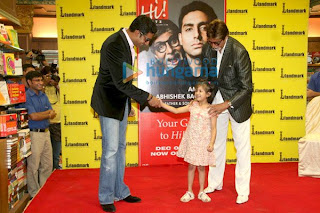 Big B and Abhishek Photo