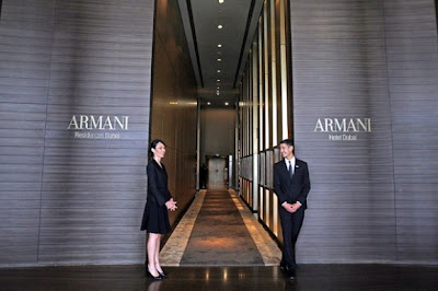 Armani hotel is provided so many facility