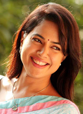 Sameera Reddy is in pink dress