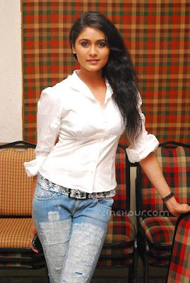Biyanka Desai is in white dress
