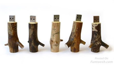 this is wood pen drives.