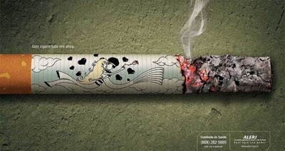 you can find anti-smoking ads from here.